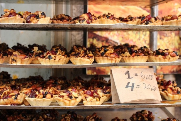 Pastries in the Shuk